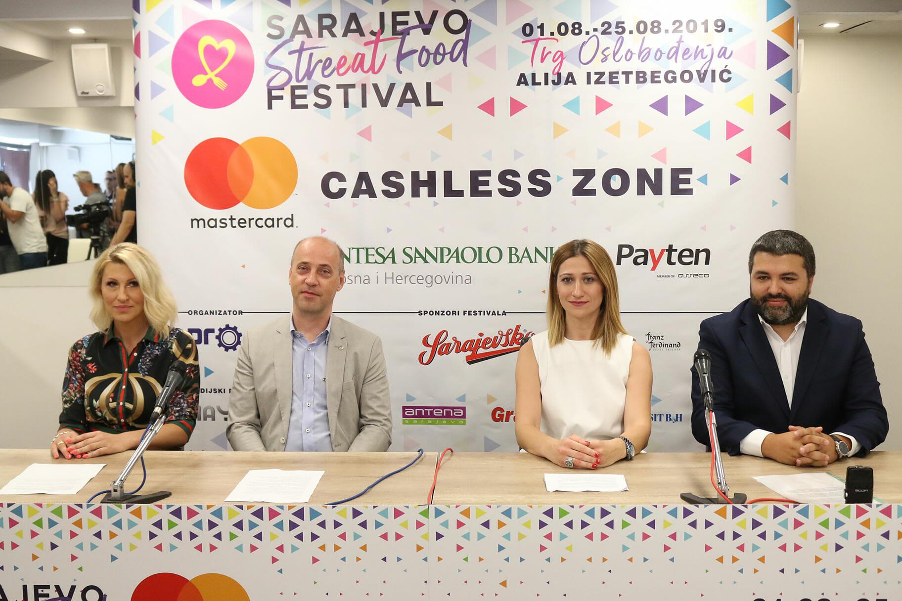 """Intesa Sanpaolo Banka BiH partner """"Sarajevo Streeat Food Festivala"""""""