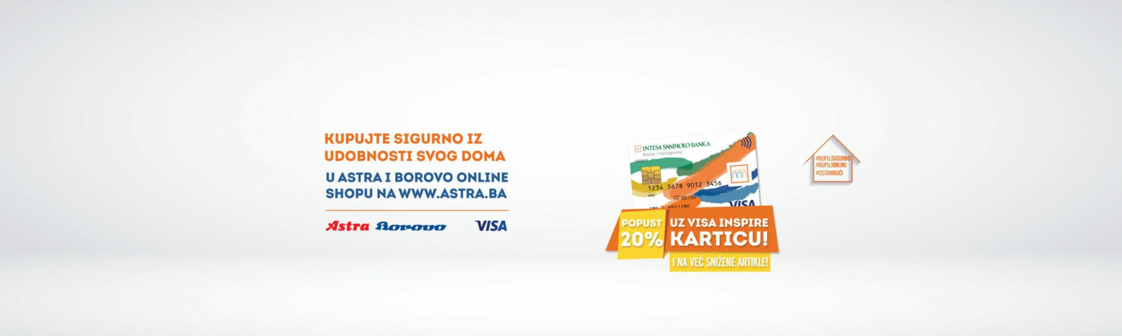 Mjesec online kupovine – ASTRA BOROVO akcija!