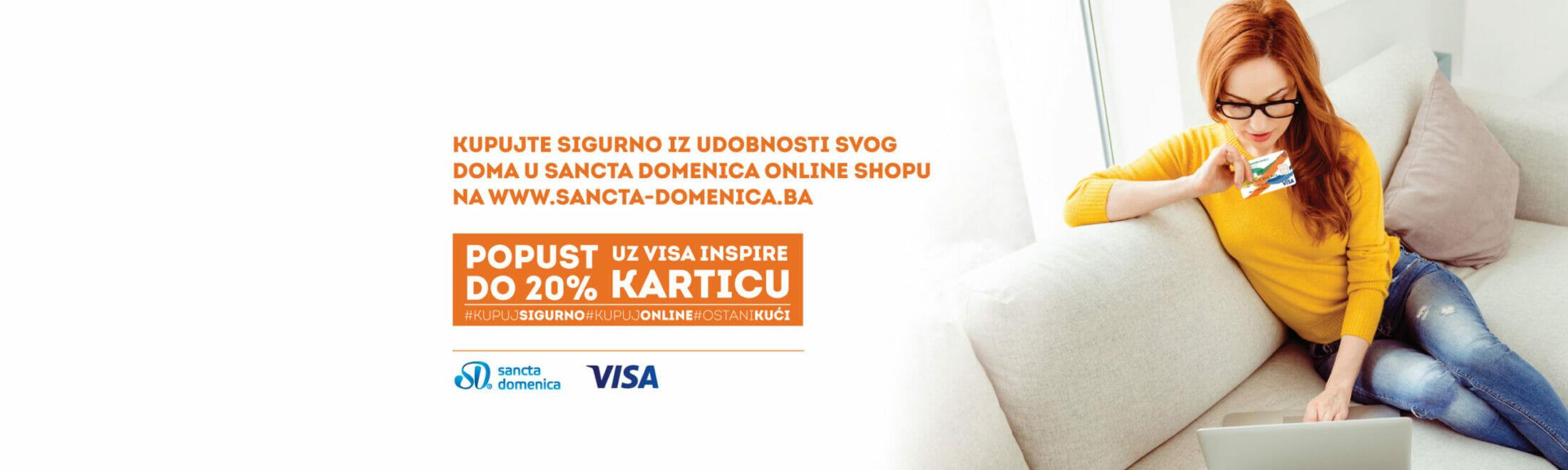Mjesec online kupovine – SANCTA DOMENICA akcija!