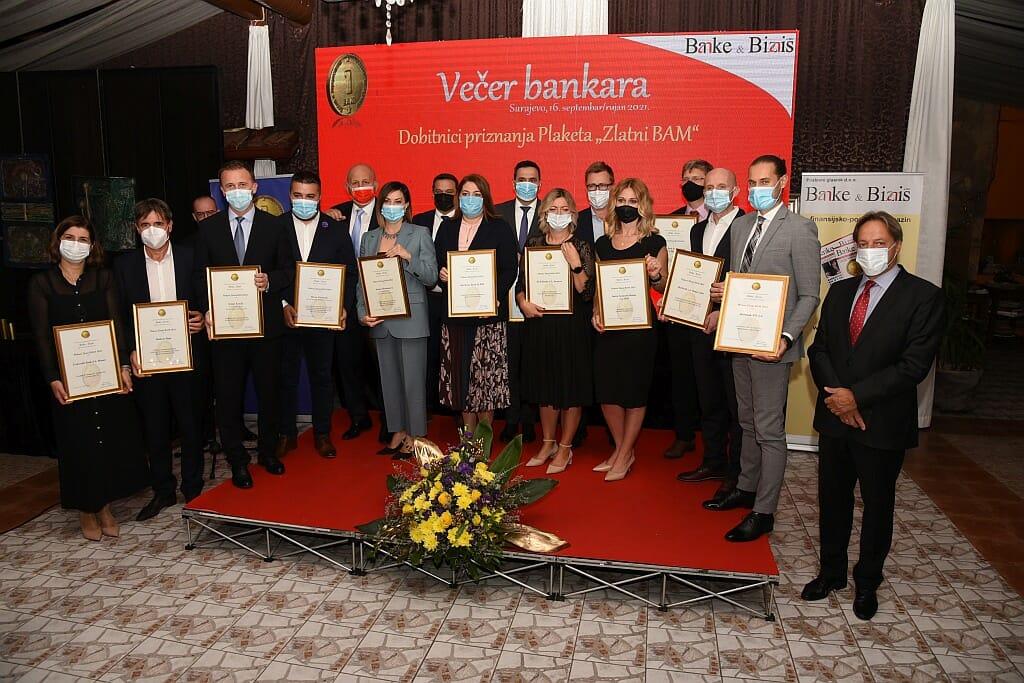 Intesa Sanpaolo Banka dobitnik posebnog priznanja Zlatni BAM